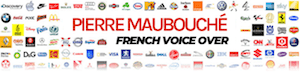 The French Voice – genuine male French voice over, real French accent Logo
